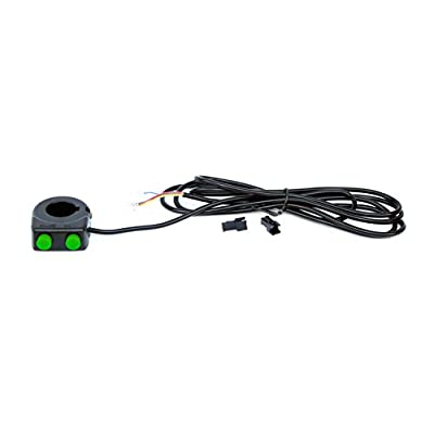 L-faster Bike Double Horn Switch Wuxing Multifunction Button Switch Scooter Cruise Button Switch Brake Button (Double Horn Switch): Toys & Games