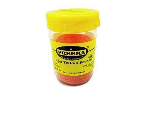 Preema - Colorante alimentario - Amarillo huevo - 25 g: Amazon.es ...
