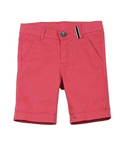 3POMMES Boy's Dress Chino Shorts Label VIP, Sizes 4-12 - 12 Red