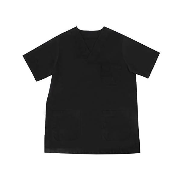 MISEMIYA - Camisa Camisetas Unisex Uniformes LABORARES ESTÉTICA Dentista - Ref:T817 5