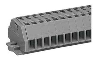 WAGO 260-112 TERMINAL BLOCK DIN RAIL, 12POS, 28-16AWG (Terminal Block Wago)