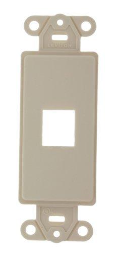 Leviton 41638-T Decora Insert Kit, 6P6C, Light Almond ()