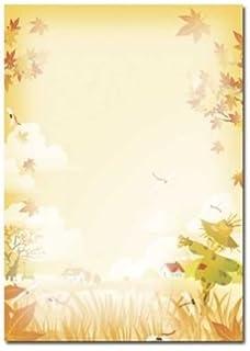 Motivpapier VIER JAHRESZEITEN-WINTER 50 Blatt DIN A4