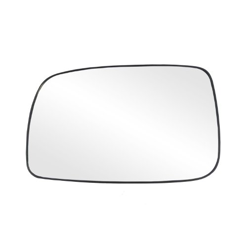 (Fit System 88205 Toyota Camry Sedan Left Side Power Replacement Mirror Glass with Backing Plate)