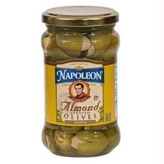 Napoleon Stuffed Olives, Almond, 6.5 Ounce