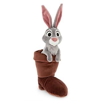 Disney Aurora Bella durmiente Conejo con botas de peluche Plush