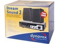 Dynavox Dream Sound Set II (amplificador de audio 150 vatios) de plata