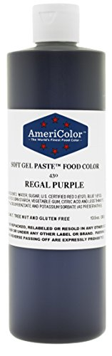 Americolor Gel colour, 131/2-Ounce, Regal Purple (Deep Purple Gel)