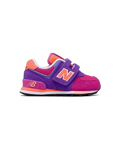 New Balance Kv574czy M Hook and Loop, Zapatillas Unisex Niños Violeta