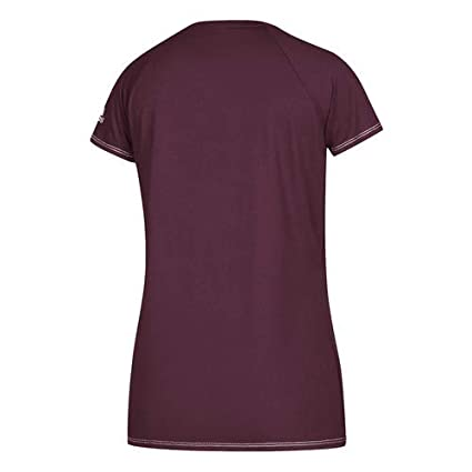 446b8d97eef Amazon.com: adidas Climalite Womens Short Sleeve Training Tee: Clothing