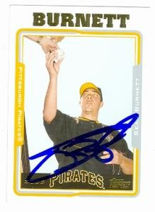 Autograph Warehouse 76380 Sean Burnett Autographed Baseball Card Pittsburgh Pirates 2005 Topps No .483 2005 Topps Autographed Baseball Card