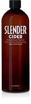 Slender Cider – Apple Cider Vinegar and Herbal Weight Loss Supplement 16 oz. – Original