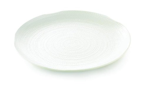 TableCraft Products M22 Pebbled Tray, Round, Melamine, 22
