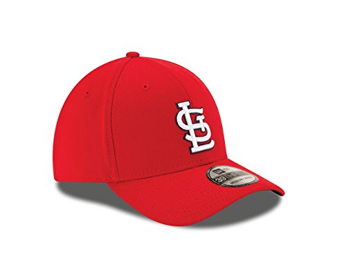 New Era MLB St. Louis Cardinals Junior Team Classic Game 39Thirty Stretch Fit Cap, Red, Child/Youth
