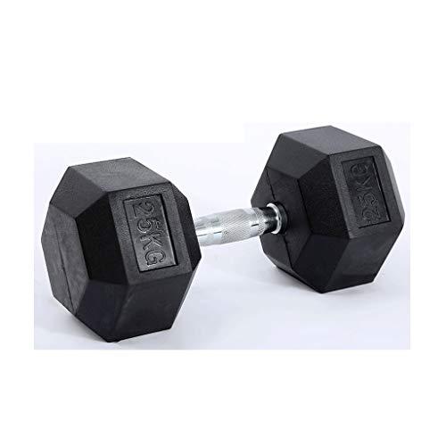 Opleiding Hexagon Dumbbell Gym Gym Bag Iron Coated Vaste Dumbbell Home Oefening Arm Muscle 2.5kg * 2, 5kg * 2, 7.5kg * 2…