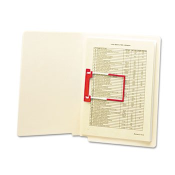 (Smead 68260 U-Clip Bonded File Fasteners 2