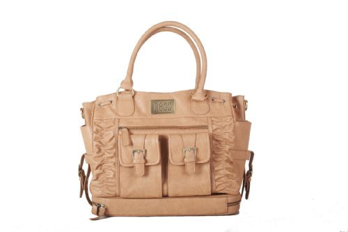 Ness Mamie Diaper/Breast Pump Tote Bag, Taupe by Ness