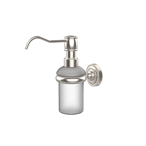 Allied Brass DT-60-SN Dottingham Collection Wall Mounted Soap Dispenser, Satin Nickel