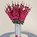 18-to-27-Fuchsia-Delphinium-Stems-Filler-Silk-Wedding-Flowers-Bouquet-Decoration