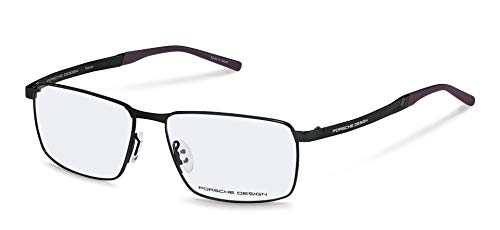 Porsche Design Titanium Eyeglasses P8337 A Black 56-15 - Men's (Porsche Design Eyewear)