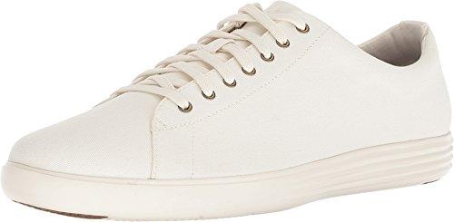 Cole Haan Men's Grand Crosscourt Sneaker Ivory Canvas 13 D US D (M) ()