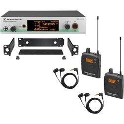 Sennheiser EW 300-2IEM G3 - In-ear Monitoring System - G-Range (566 - 608 MHz) by Sennheiser (Image #1)