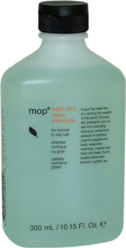 Basil Mint Shampoo Unisex Shampoo by Mop, 10.1 Ounce (Modern Organic Products compare prices)