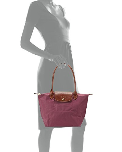 Longchamp Pliages Fig Medium Tote Bag - Embossed Longchamp Tote