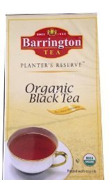Barrington Planters Reserve Organic Black Tea 100 Tea Bags with Unbleached Tea Bag Paper (Light Barrington 2)