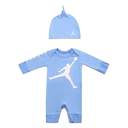 Jordan Infant Jumpman Coverall (University Blue(555319-B9F)/White, 0-3 Months) ()