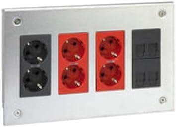 Simon 51002401-036 - Kit Caja De Empotrar Metálica Sai 4 Mód.: Amazon.es: Bricolaje y herramientas