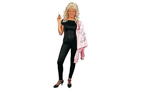 Eurocarnavales - chaqueta pink ladies (grease): Amazon.es ...