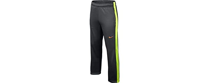 ac1f8cd6a9 Amazon.com  Nike Knockout Fleece Pant 2.0 Boys LG Anthracite Volt  Sports    Outdoors