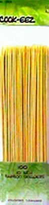 10'' Bamboo Skewers on a Clipstrip (Pack Of 40) by Navajo Manufacturing