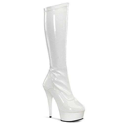 Pleaser Delight-2000 - sexy plateau talon hauts chaussures femmes bottes 36-45