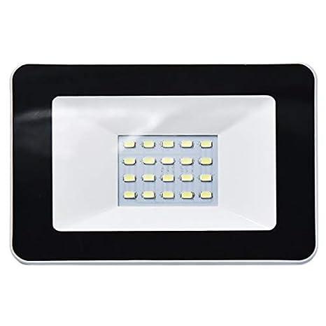 SODIAL Luz de InundacióN Solar 10W Seguridad 20 IluminacióN ...