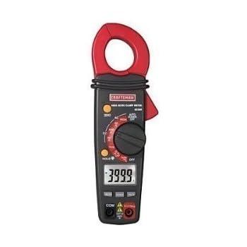 Craftsman Digital 400A AC / DC Clamp-On Ammeter - 82369