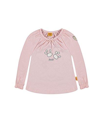 Steiff Collection Mädchen T-Shirt T-Shirt 1/1 Arm, Gr. 68, Rosa (peach skin 2058)