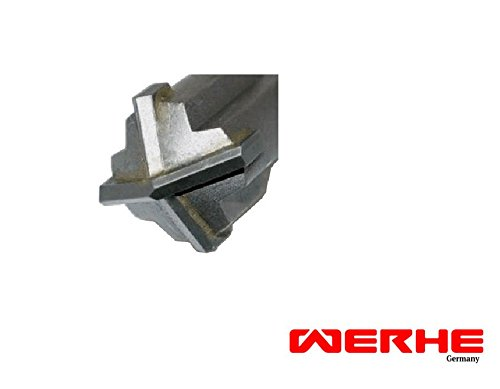 WERHE SDS Max Betonbohrer 18 x 600 mm Hammerbohrer Steinbohrer Beton Bohrer
