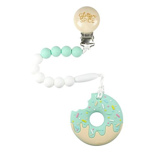 Glitter and Spice Donut Teether