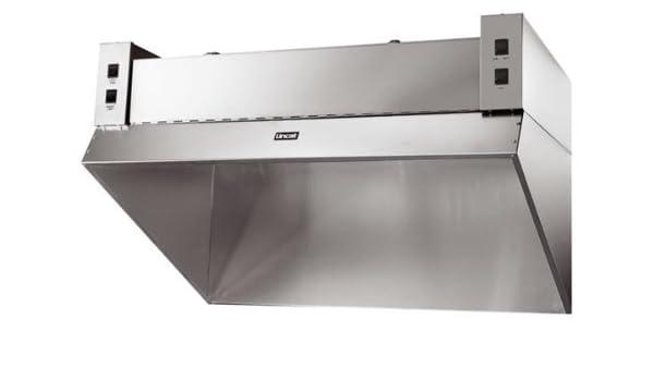 Unidad de filtración de humos Lincat filtración de las campanas de los olores de la cocina para reducir la grasa y partículas para un limpio y fresco ambiente de trabajo dimensiones (H)