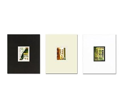 Amazon.com: Viewpoint Artist Trading Card Single Mat (10-Pack) 8& ...