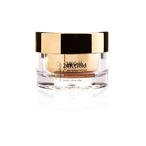 - Masqueology 24k Gold Cream with Shimmer, 2.12 fl. oz.