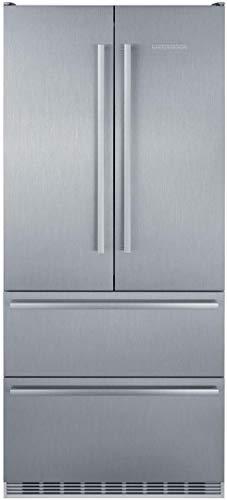 Liebherr CBS2082 Freestanding French Door Refrigerator with Ice Maker, in Stainless Steel