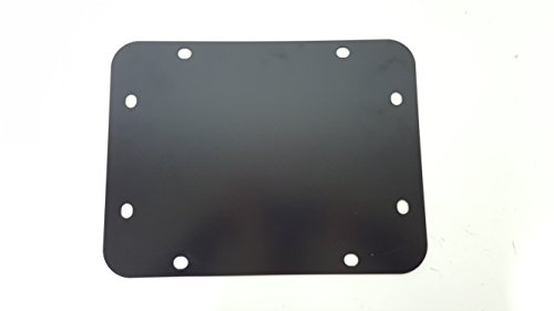 - Jeep Wrangler JK JKU Tailgate Spare Tire Delete Plate 2007-Current Blank Plate