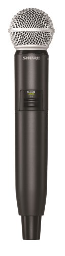 - Shure GLXD2/SM58 Handheld Transmitter with SM58 Microphone, Z2