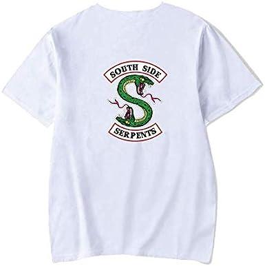 MADDISON DOUGLAS Riverdale Tshirt TV Show Southside Serpents TEE Cotton Top T-Shirts Unisex Sleeve Sweatshirt