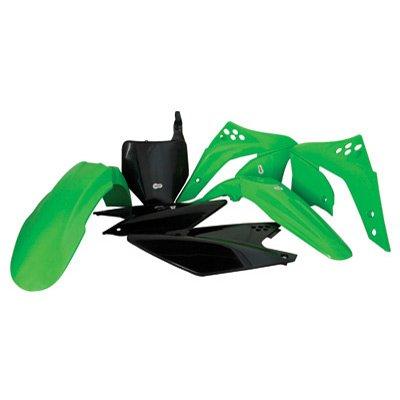 Polisport Plastics Kit Green for Kawasaki KX250F 06-08