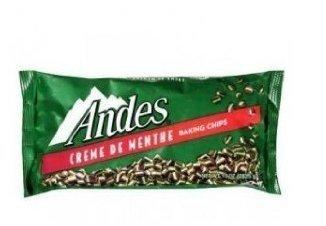 Chocolate Creme Mint (Andes Creme de Menthe Chocolate Mint Baking Chips 10oz - 2 Unit Pack)