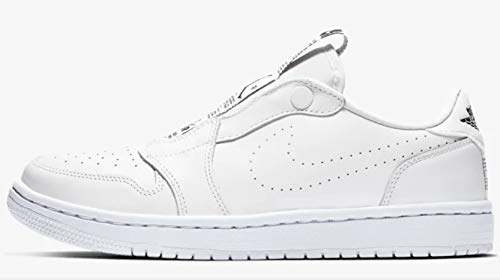c299c620491 Amazon.com: Jordan Air 1 Women's Retro Low Slip White/Black: Sports &  Outdoors